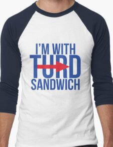 I'm With Turd Sandwich - South Park Men's Baseball ¾ T-Shirt