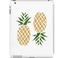 Pineapples (two) iPad Case/Skin