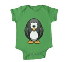 Baby Penguin One Piece - Short Sleeve