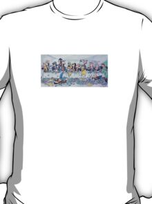 The last supper, with bikers T-Shirt