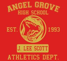 Angel Grove H.S. (Red Ranger Edition) One Piece - Short Sleeve