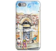 By The Old Cathedral In Cartagena 01 iPhone Case/Skin