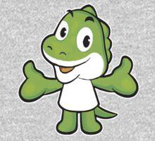 Baby Green Dinosaur Baby Tee