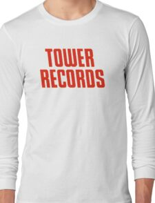 Tower Records Long Sleeve T-Shirt