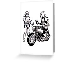 Stormtroopers with Norton Greeting Card