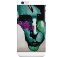 Marilyn Manson Painting iPhone Case/Skin