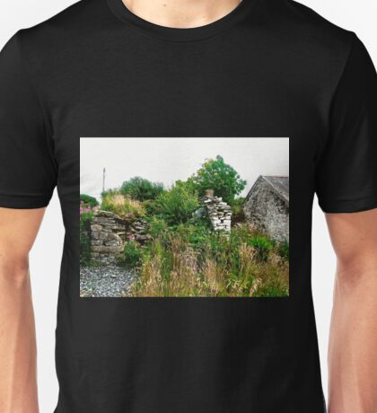 Another abandoned cottage - Donegal, Ireland Unisex T-Shirt