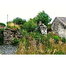 Another abandoned cottage - Donegal, Ireland Photographic Print