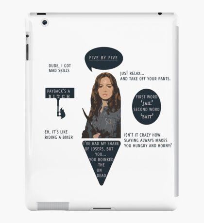 Faith Lehane - BTVS  iPad Case/Skin