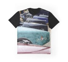 Beautiful retro car. Elegance and style of  first part of XX century. Details view. Graphic T-Shirt