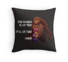 League of Legends - Annie Throw Pillow