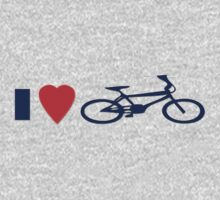 I Love BMX T-Shirt - Cool Bike Phone Cover by deanworld
