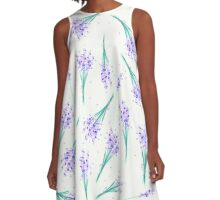 Fresh Cut Lavender A-Line Dress