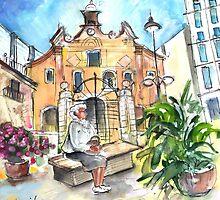 Del Carmen Church In Cartagena by Goodaboom