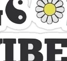 Good Vibes Sunflower Sticker