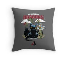 The Mother of Dragons Throw Pillow