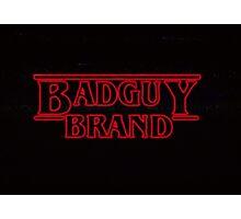Stranger Badguy Photographic Print