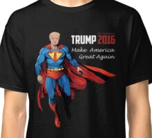 Donald J. Super Trump Presidential Election 2016 Funny Political Classic T-Shirt