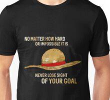 One Piece quote - straw hat Unisex T-Shirt
