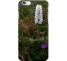Irish White Orchid, Inishmore iPhone Case/Skin