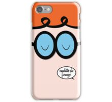 "Dexter's Laboratory ""Omlette Du Fromage!"" iPhone Case/Skin"