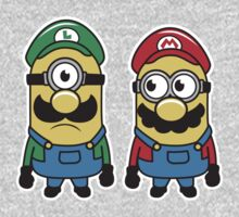 Super Minion Bros Kids Clothes