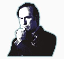 Awesome Saul Goodman - Stencil - Breaking Bad Better call Saul - Street art Graffiti Popart Andy warhol Kids Tee