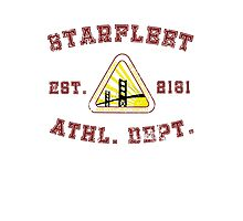 Star Fleet Academy Athletics Department  Photographic Print