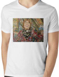 Skittles Mens V-Neck T-Shirt