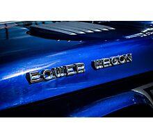 Dodge Ram Power Wagon emblem Photographic Print