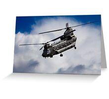 CH47 Chinook  Greeting Card