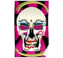 Electroskull Poster