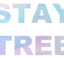 twenty one pilots - Stay Street  Sticker