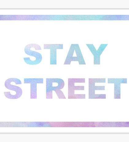 twenty one pilots - Stay Street  Sticker