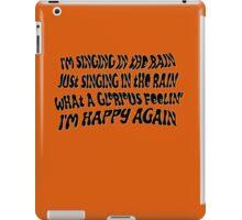 Singing Clockwork iPad Case/Skin