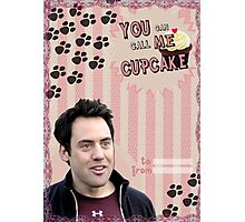 My Teenwolfed Valentine [You Can Call Me Cupcake] Photographic Print