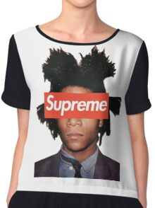 Basquiat X Supreme Chiffon Top