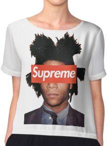 Basquiat X Supreme Chiffon Top