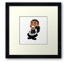 Godfrey Chibi Framed Print