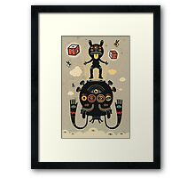 Monstertrap Framed Print