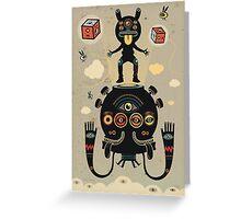 Monstertrap Greeting Card
