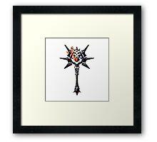 Maw of the Dammed - Gothic Framed Print
