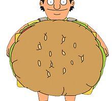 Gene (Burger) Belcher by pugs4-drugs