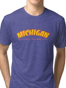 University of Michigan Thrasher Tri-blend T-Shirt