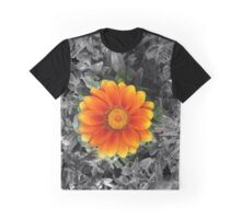 Fire Flower Focal Zoom Graphic T-Shirt