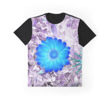 Fire Flower Invert Graphic T-Shirt