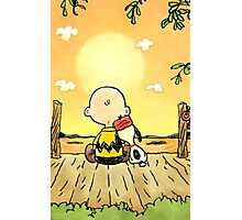Charlie brown iphone Photographic Print