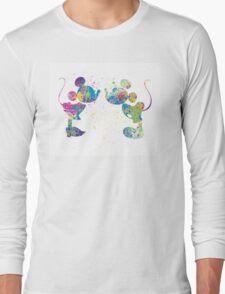 Watercolour kiss Long Sleeve T-Shirt
