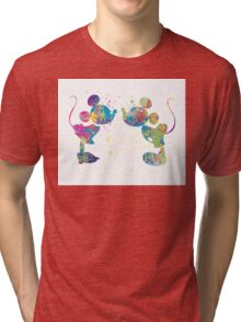 Watercolour kiss Tri-blend T-Shirt