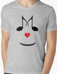 SOLD - FUN T-SHIRT FOR MUSIC LOVERS  Mens V-Neck T-Shirt